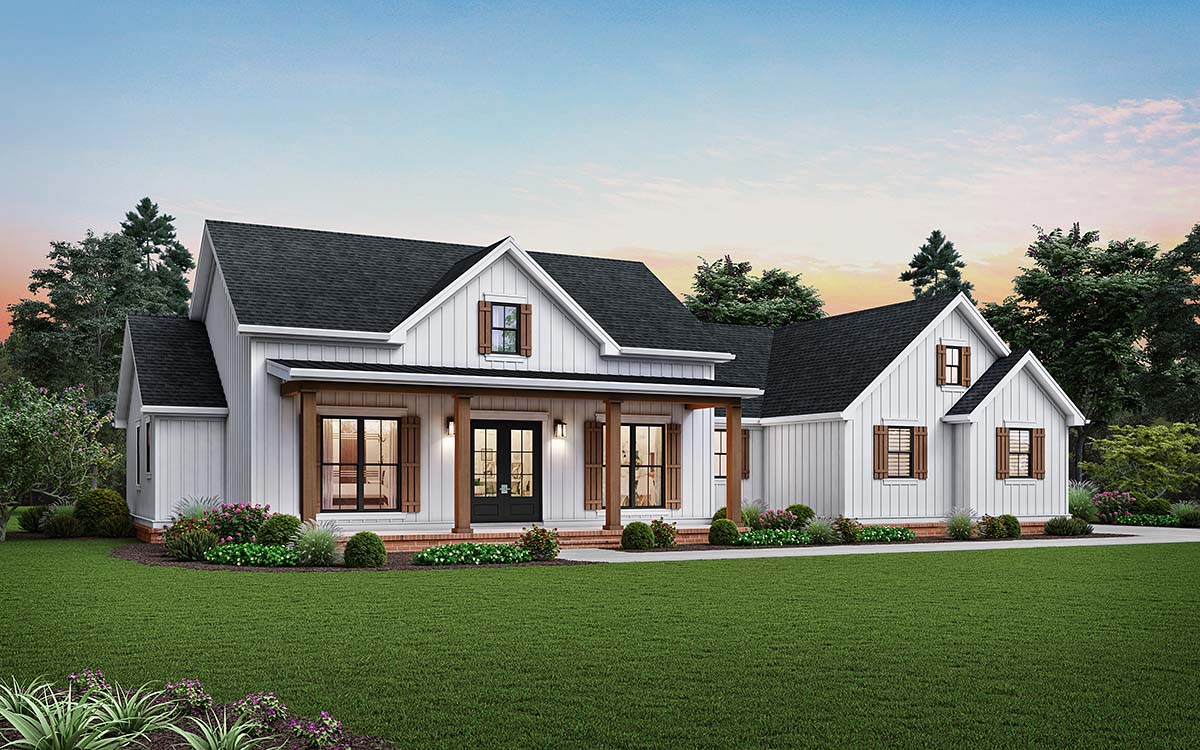 House Plan 81243 - Ranch Style with 2460 Sq Ft, 3 Bed, 2 Bath, 1 Half Bath