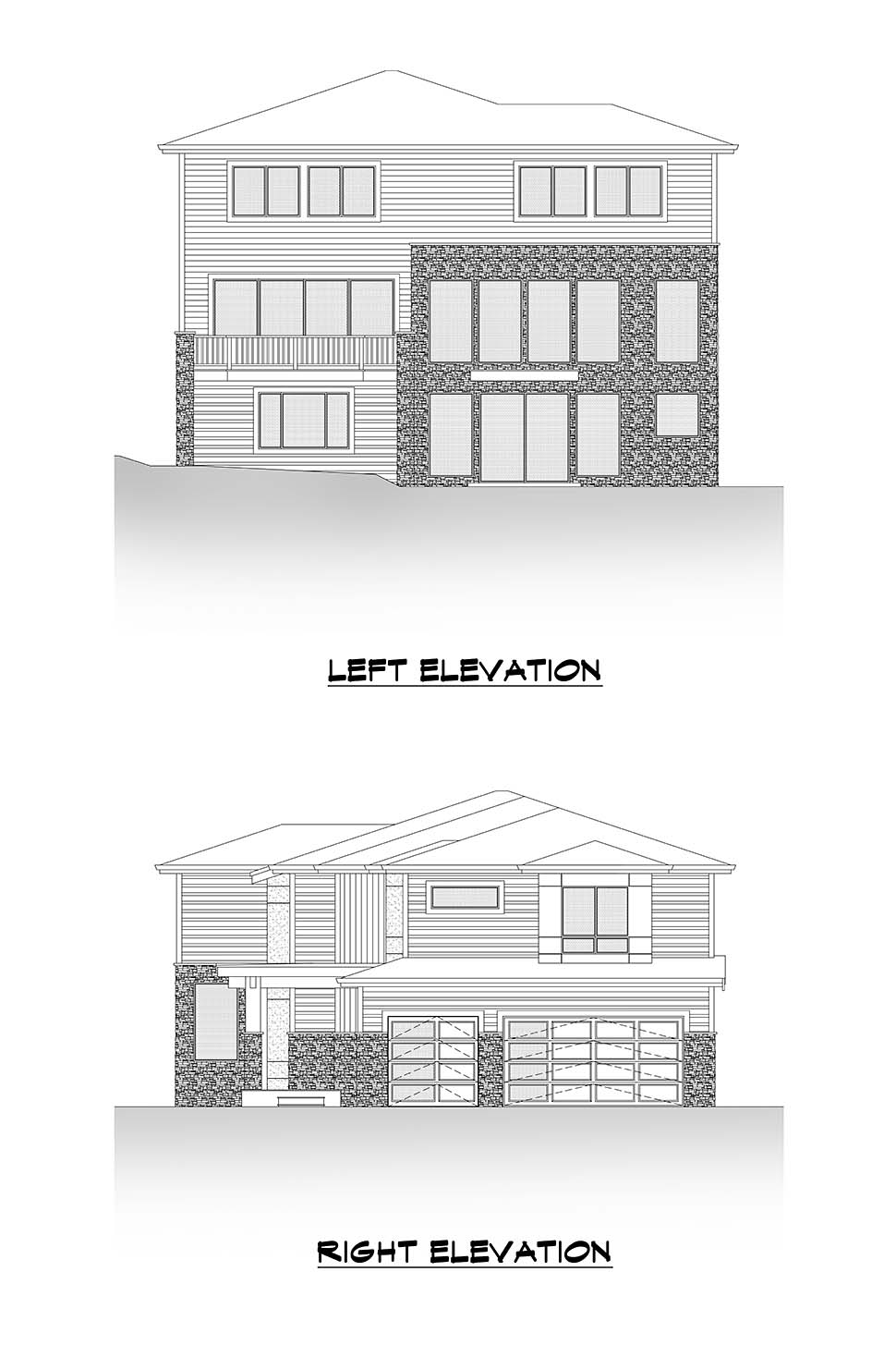 Contemporary, Modern House Plan 81948 with 6 Beds, 5 Baths, 3 Car Garage Picture 4