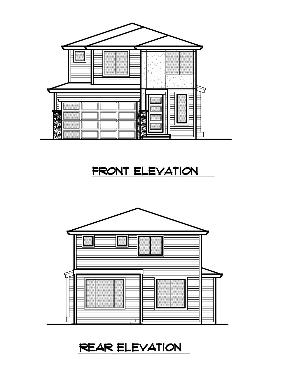 Contemporary, Modern House Plan 81951 with 3 Beds, 3 Baths, 2 Car Garage Picture 17