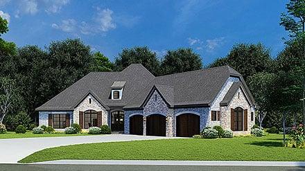 House Plan 82449