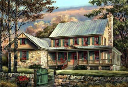 House Plan 86144