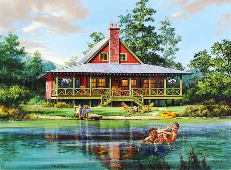 House Plan 86202