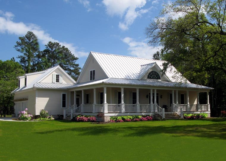 Cottage, Country, Farmhouse, Traditional House Plan 86226 with 4 Beds, 3 Baths, 2 Car Garage Picture 1