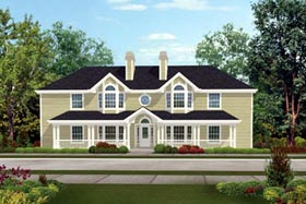 Plan Number 87348 - 2840 Square Feet