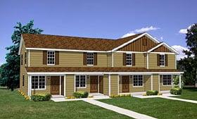 Plan Number 94485 - 3492 Square Feet