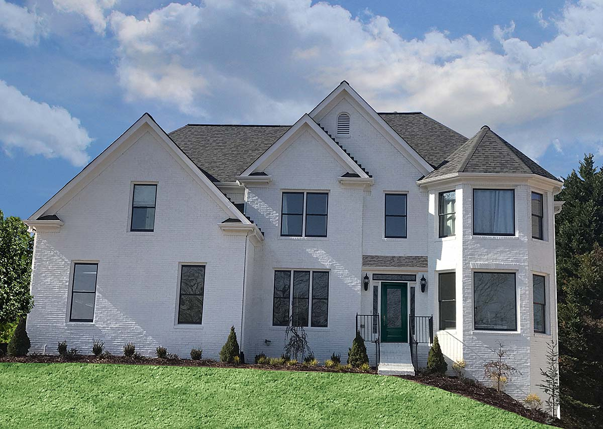 Country, French Country, Traditional House Plan 97691 with 4 Beds, 4 Baths, 2 Car Garage Elevation