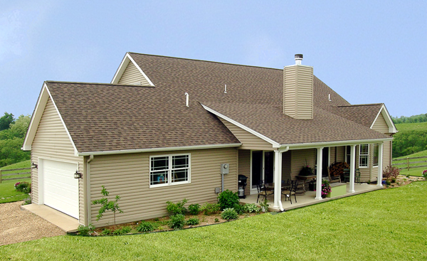 Cape Cod, Country House Plan 99680 with 3 Beds, 2 Baths, 2 Car Garage Picture 2