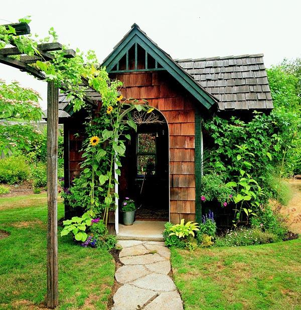 Cedar Shingle Shed - Project Plan 503486