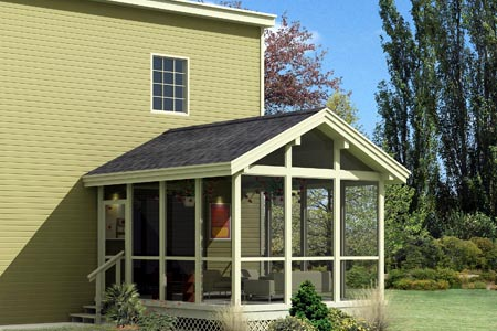 Screened Porch  - Project Plan 85948